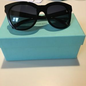 Tiffany & co sunglasses- black